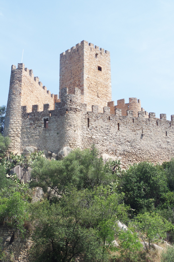 castle of almourol tower