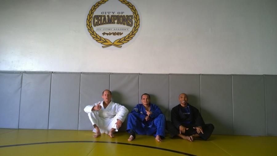 Jiu Jitsu open mat
