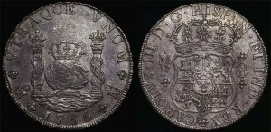 1765 mexico pillar dollar