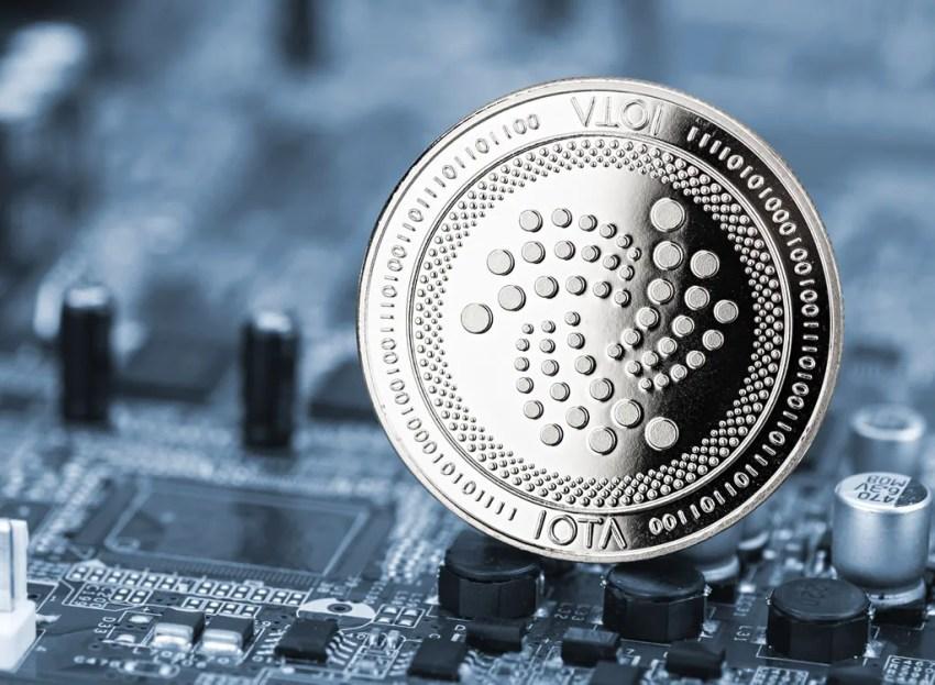 IOTA(アイオータ)の通貨イメージ