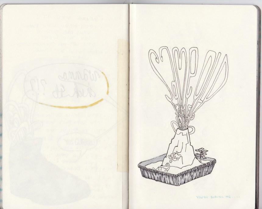 sketchbook project, chicago art artist, illustration, graffiti