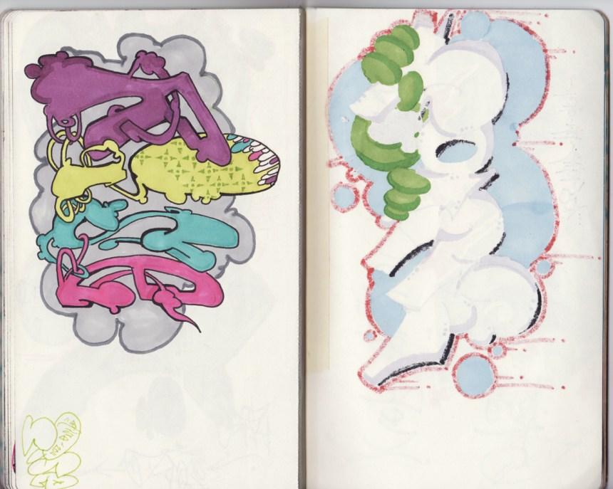 sketchbook project, chicago art artist, illustration, graffiti, rise, ksa