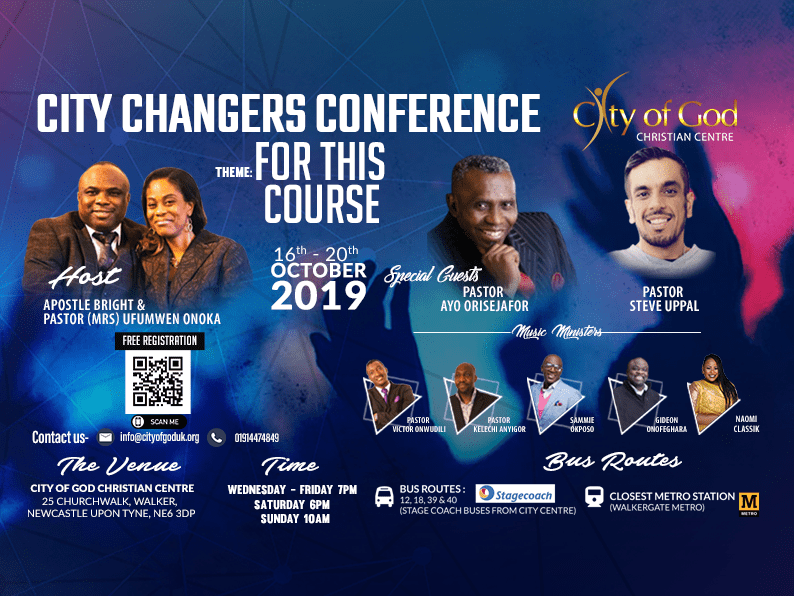 City changers conference