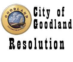 City of Goodland Resolution