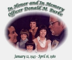 Officer Donald Burke Memorial - Fallen in the Line