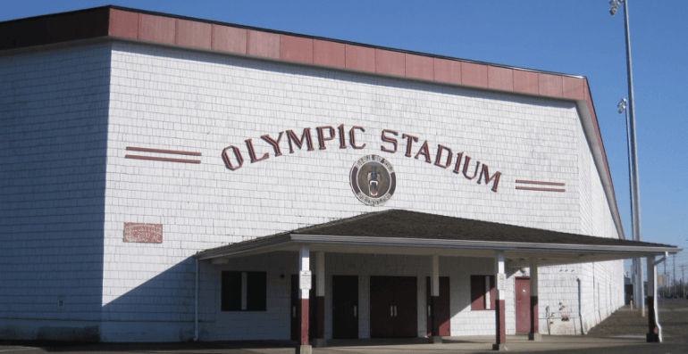 Historic Olympic Staduim in Hoquiam WA