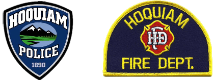 Hoquiam First Responder Shoulder Patch
