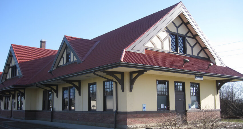 Hoquiam Station Restoration Picture