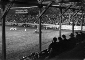 2020.016.0007 - Night footbal at Olympic Stadium, 14 September 1940