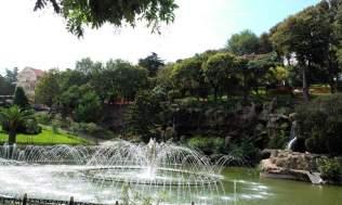 A pond in Emirgan Park