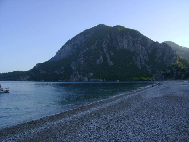 Olympos Beach, Antalya, Turkey
