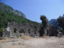 The ancient city of Olympos - 2012, Antalya, Turkey - 01