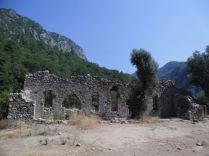 The ancient city of Olympos - 2012, Antalya, Turkey - 01