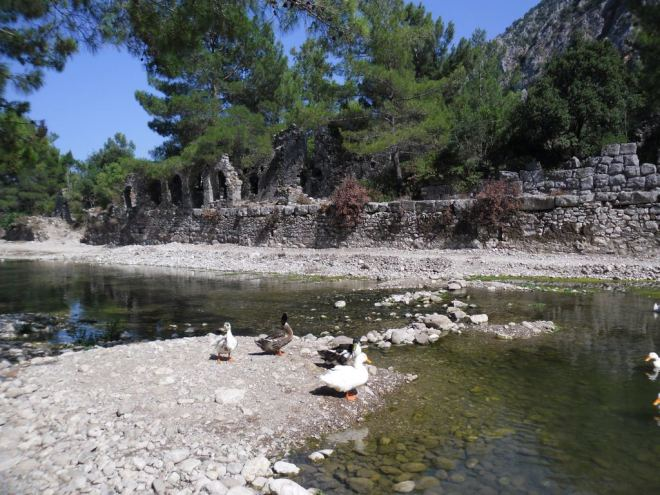 The ancient city of Olympos - 2012, Antalya, Turkey - 11