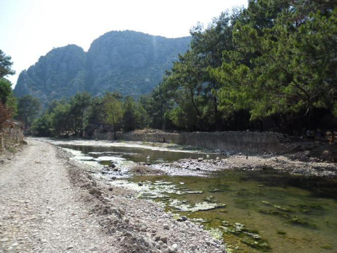 The ancient city of Olympos - 2012, Antalya, Turkey - 13