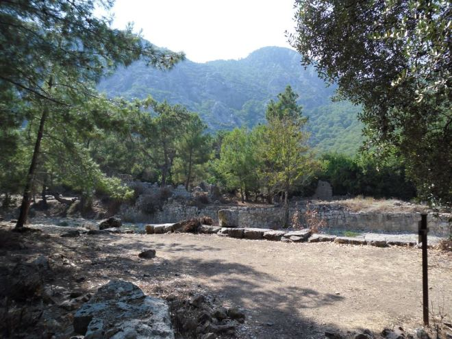The ancient city of Olympos - 2012, Antalya, Turkey - 21