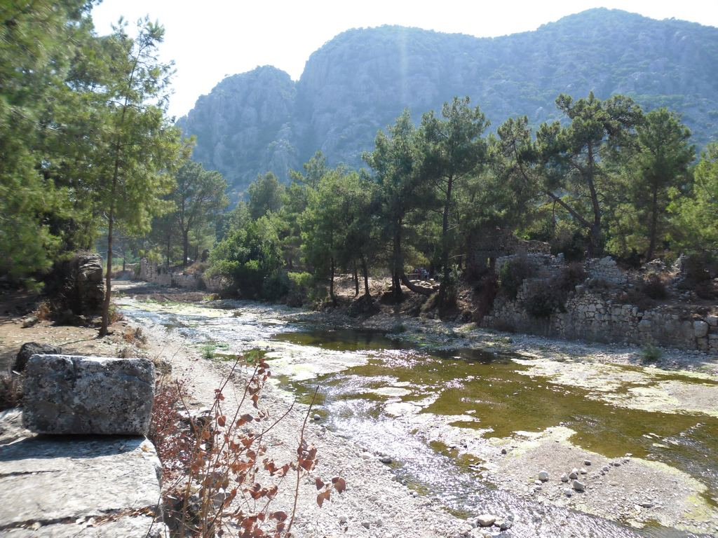 The ancient city of Olympos - 2012, Antalya, Turkey - 22