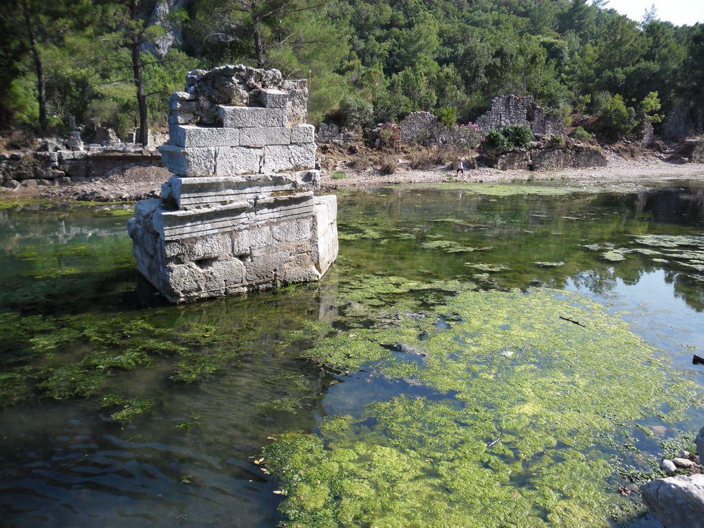 The ancient city of Olympos - 2012, Antalya, Turkey - 52