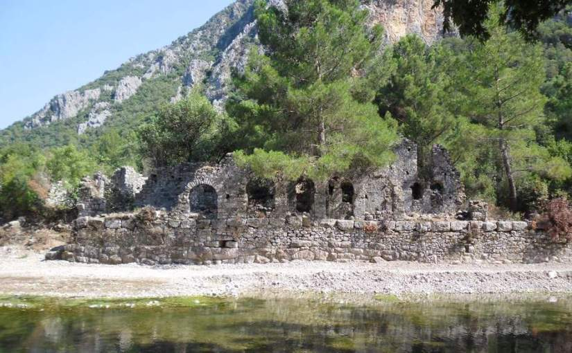 The ancient city of Olympos (Antalya, Turkey)