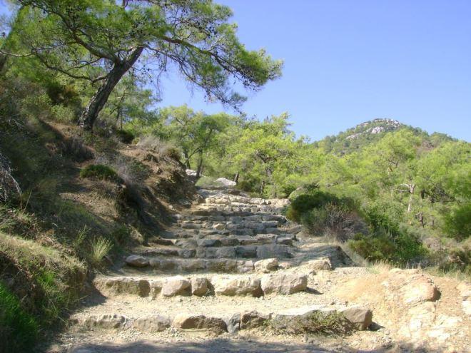 Stairway to the Chimera (burning stones) - Antalya, Turkey