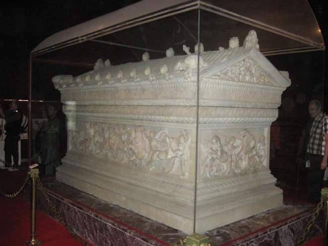 The Alexander Sarcophagus