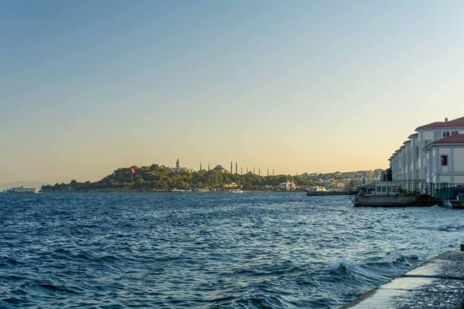 Istanbul, Historic Peninsula from TophaneIstanbul, Historic Peninsula from Tophane