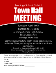 City of Jennings Town Hall Meeting