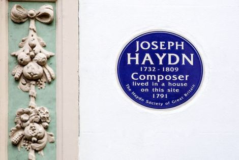 Photo taken from haydnsocietyofgb.co.uk/haydn-plaque