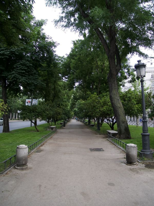 Paseo Del Prado - City Of Madrid Film Office