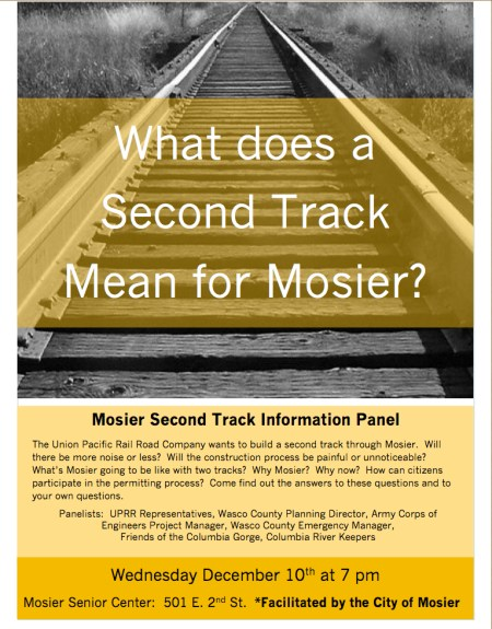 Mosier Train Tack Info Panel