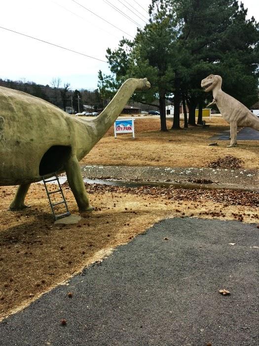 Dinosaur Park Arkansas : dinosaur, arkansas, Dinosaur, Mountainburg
