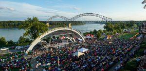 New Albany Indiana amphitheater