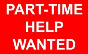 Part-Time Help Wanted