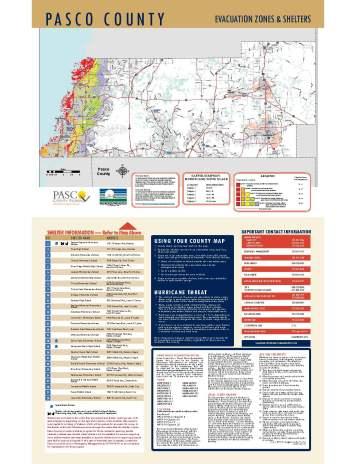 Pasco Evacuation Zones