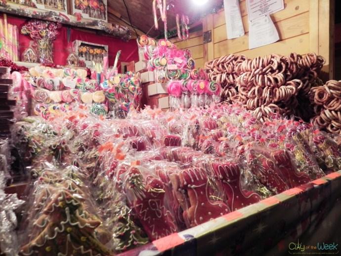 sweets at the Sibiu Christmas Market