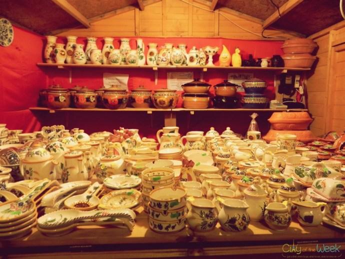 Korond handicraft at the Sibiu Christmas Market