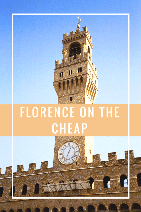 Florence on the Cheap