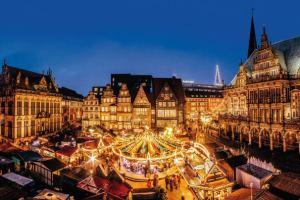 Market in Bremen - image via bremen-tourism.de