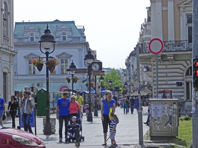 Streets of Belgrade