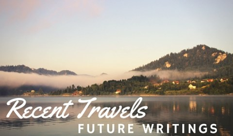 Recent Travels, Future Writings