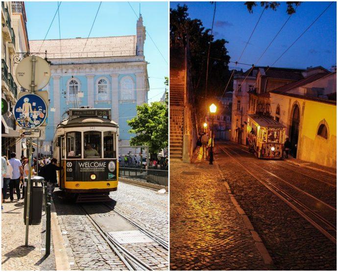 trams of Lisbon, Portugal