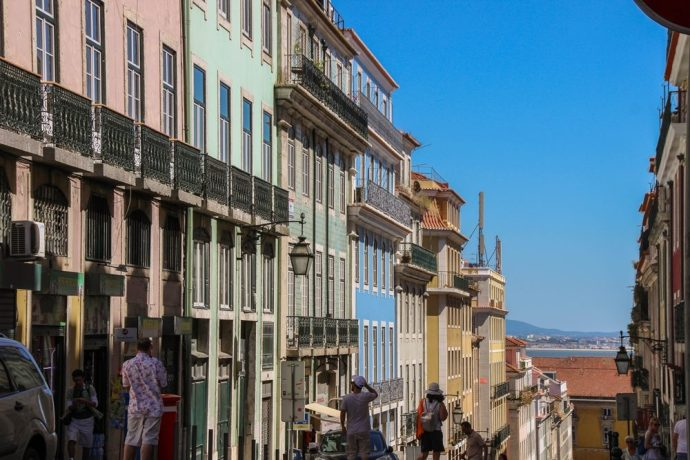 streets of Lisbon, Portugal
