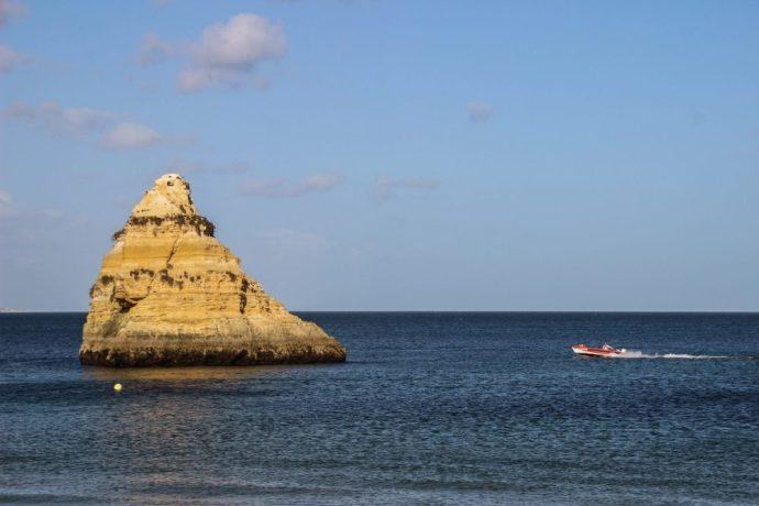 Rock Formations at Praia Dona Ana
