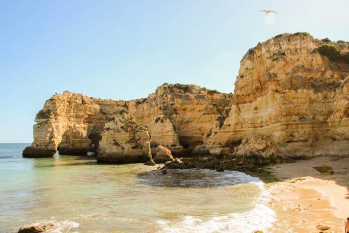 Visit Praia da Marinha, Portugal