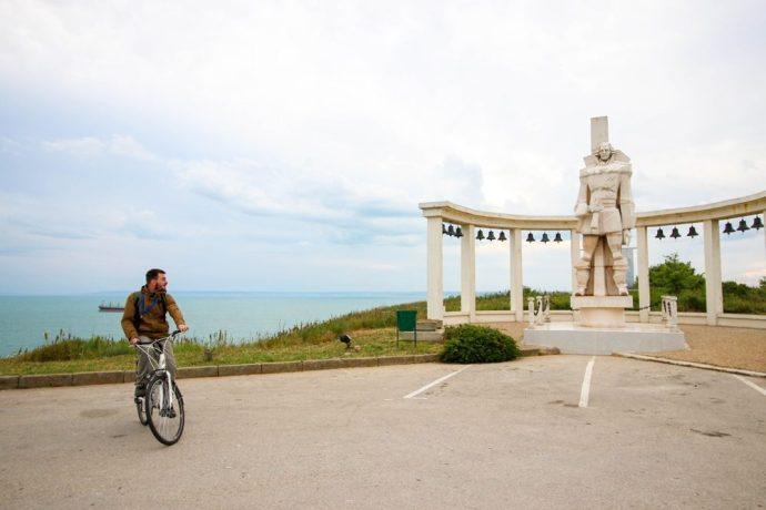 Biking Cape Kaliakra, trip to Kavarna, Bulgaria