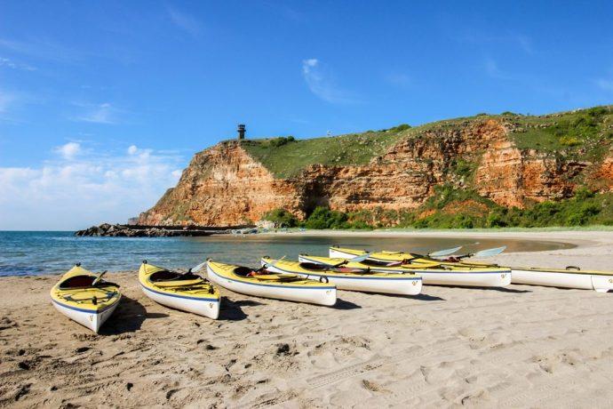 Sea Kayaking Bulgaria, trip to Kavarna, Bulgaria