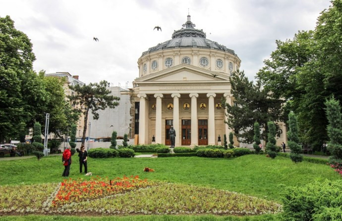 Bucharest Old Town Photo Tour, Romanian Athenaeum