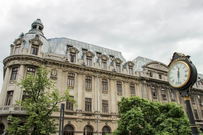 Bucharest Old Town Photo Tour, University