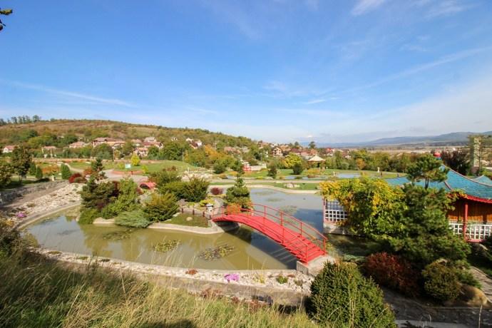 Vasile Fati Botanical Gardens Jibou, Salaj County, Romania
