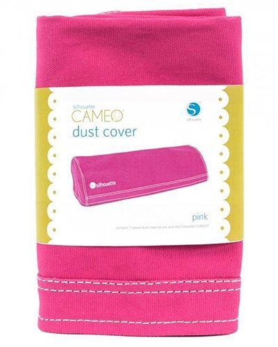 Silhouette cameo stofhoes roze voor de modellen 1 of 2 , dust cover pink COVER-CAM-PNK-3T 814792012987 Cityplotter Zaandam